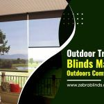 Outdoor Transparent Blinds Make Your Outdoors Comfortable Again