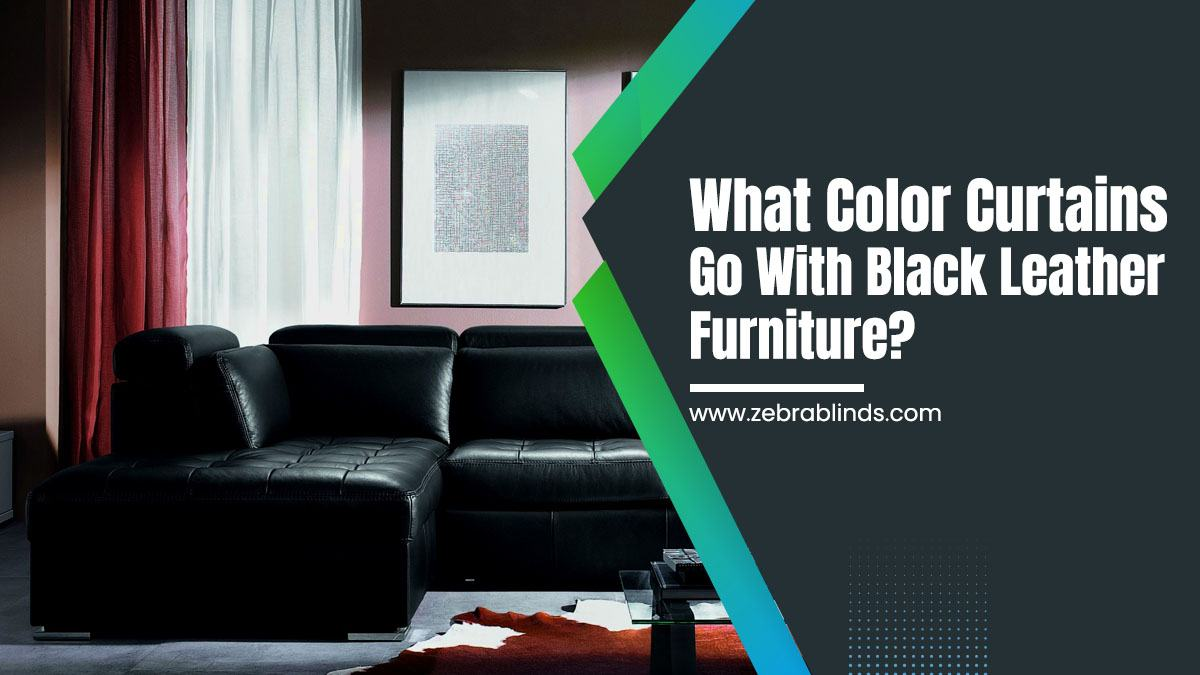 Commercial Office Paint Color Ideas, What Color Curtains Go With Black Leather Furniture