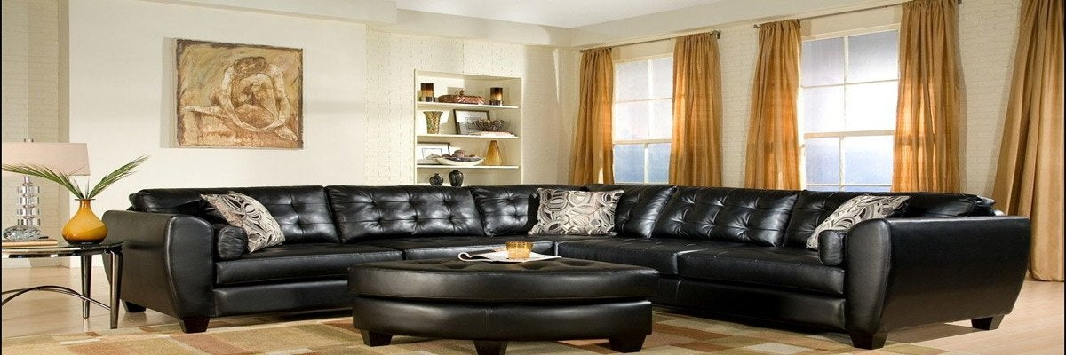 Curtains for Black Leather Furniture