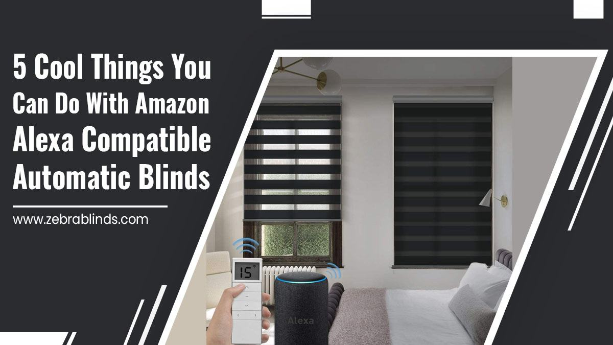 5 Cool Things You Can Do With Amazon Alexa Compatible Automatic Blinds
