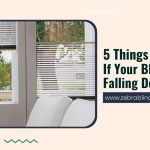 Ensuring Proper Installation: 5 Things to Check If Your Blind Keeps Falling Down