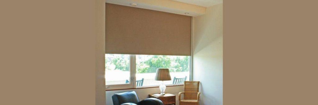 Roller Shades with Side Channel