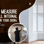How to Measure and Install Internal Shutters for Your Doors