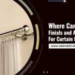 Where Can You Buy Finials and Accessories For Curtain Rods?