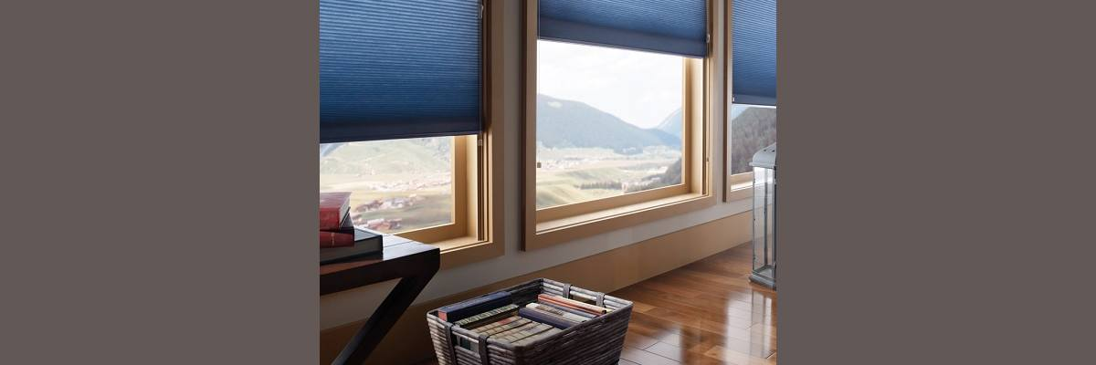Cellular Shades with Sidetrack