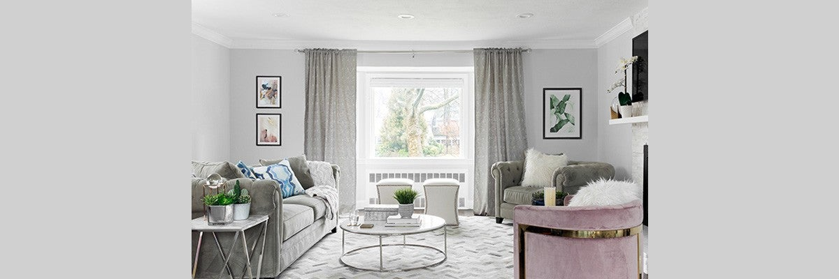 Curtains for Grey Couch
