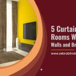 5 Curtain Idea for Rooms With Yellow Walls And Brown Furniture