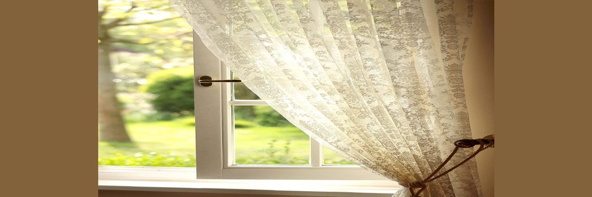Pinch Pleated Sheer Curtains
