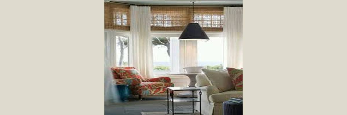 Woven Wood Shades for Transom Windows