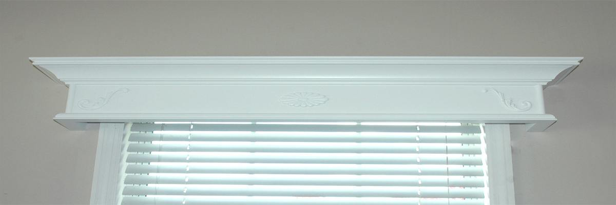 Painted Wooden Valance