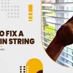 How to Fix a Curtain String