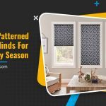 5 Unique Patterned Pleated Blinds for the Holiday Season