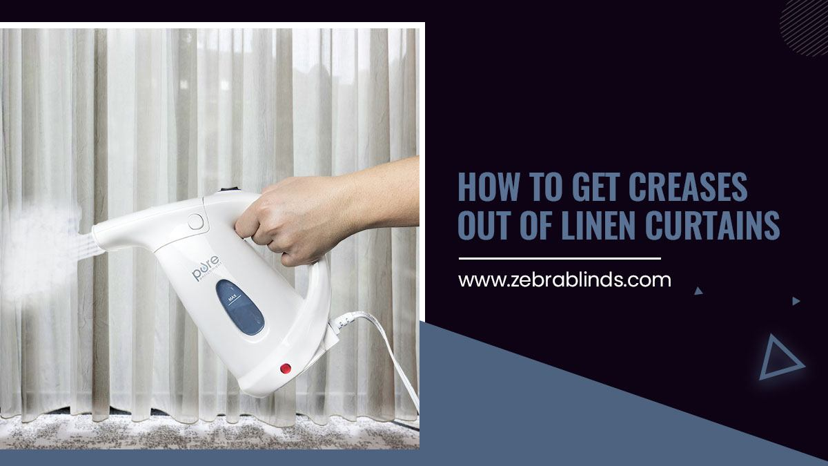 How to Get Creases Out of Linen Curtains