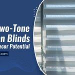 Using Two-Tone Venetian Blinds To Its Full Decor Potential