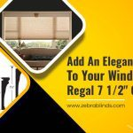 """Add an Elegant Accent to your Window with Regal 7 ½"""" Cornices"""