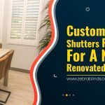 Custom Wood Shutters Perfect For A Newly Renovated Interior