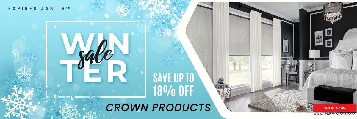 Save 18% on most Crown Products
