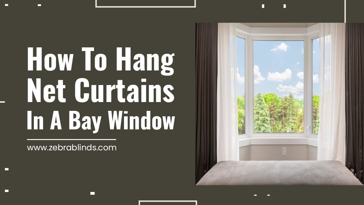 How to Hang Net Curtains in a Bay Window