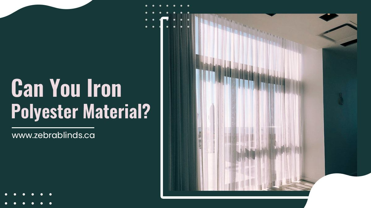 Can You Iron Polyester Material?
