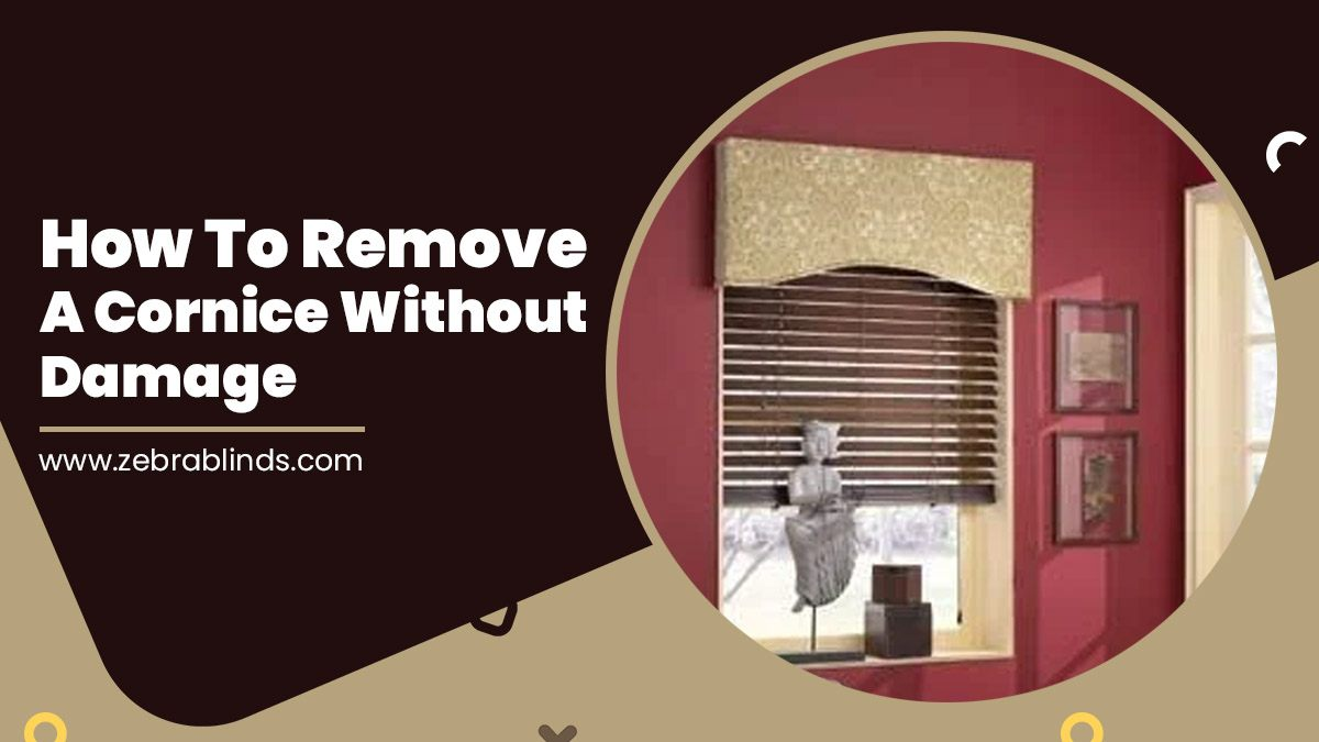 How To Remove A Cornice Without Damage