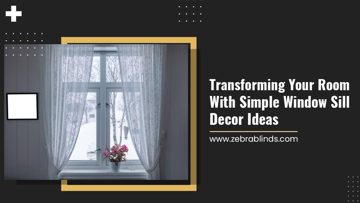 Transforming Your Room With Simple Window Sill Decor Ideas