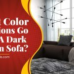 What Color Cushions Go With A Dark Brown Sofa?