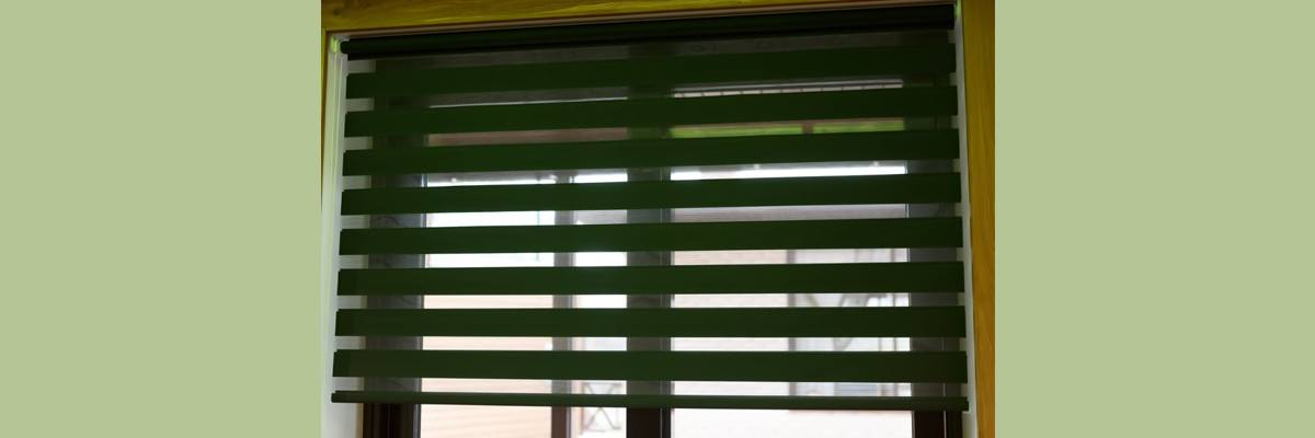 Forest Green Blinds