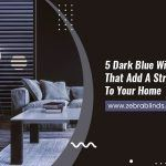 5 Dark Blue Window Blinds That Add A Striking Depth To Your Home
