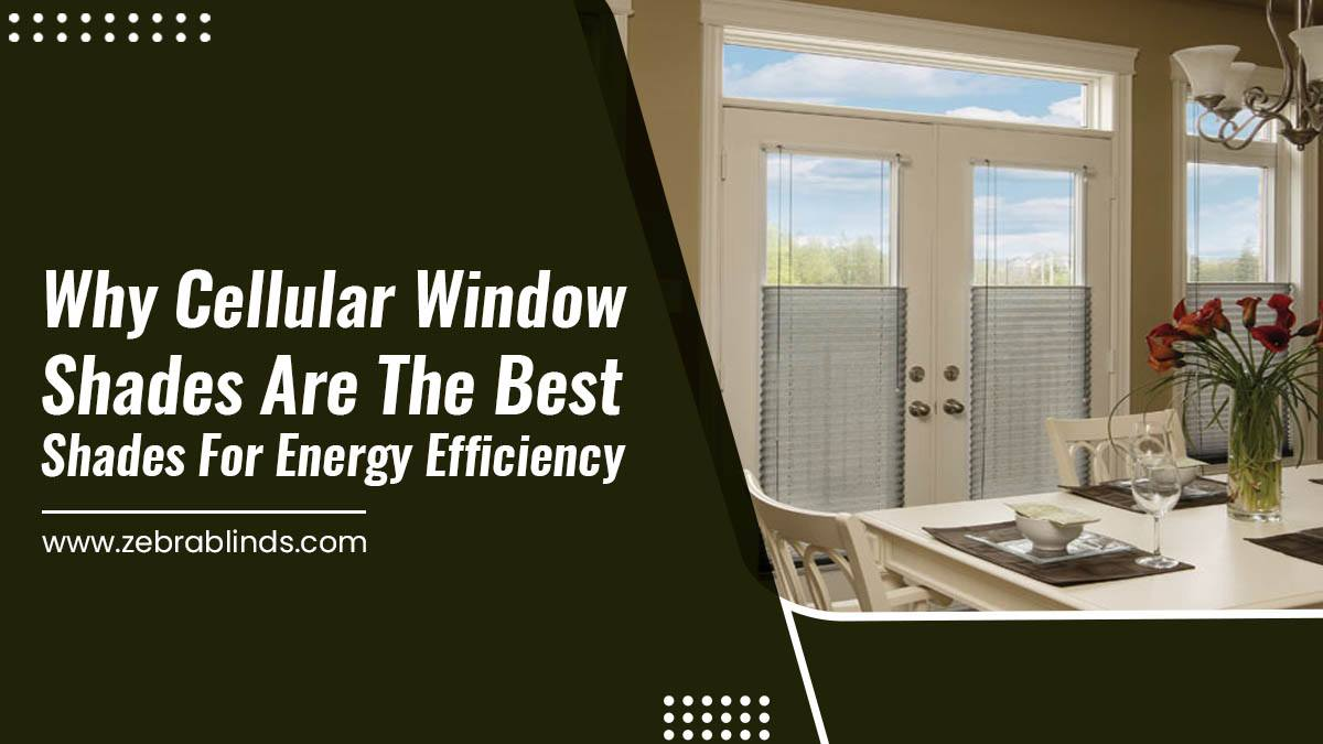 Why Cellular Shades Are the Best Shades for Energy Efficiency