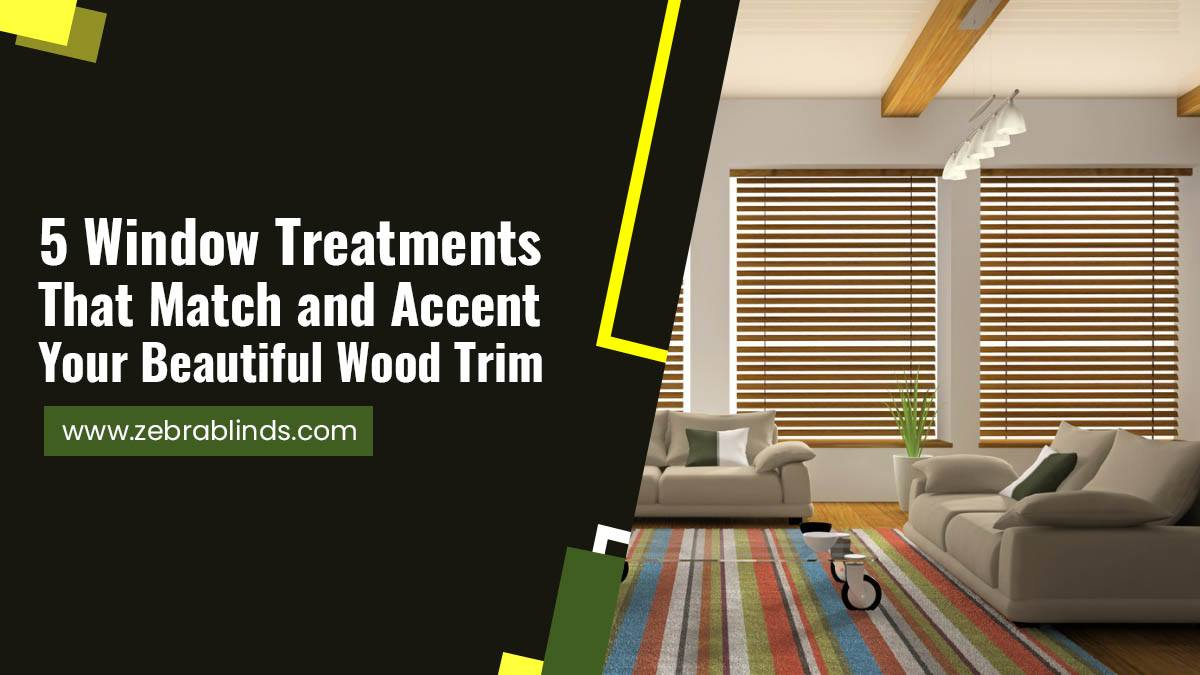5-Window-Treatments-That-Match-and-Accent-Your-Beautiful-Wood-Trim