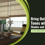 Bring Out the Earthy Tones with Natural Shades and Roman Blinds