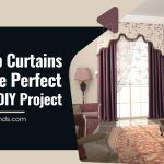 Roll Up Curtains Are The Perfect Spring DIY Project