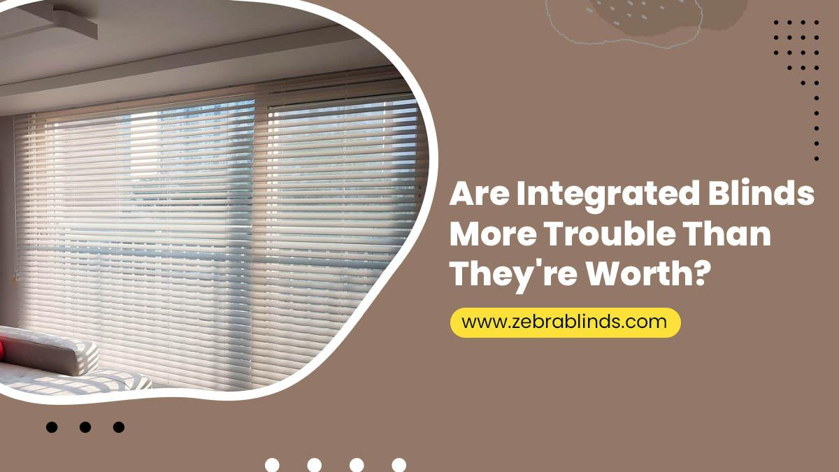 Are Integrated Blinds More Trouble Than They're Worth