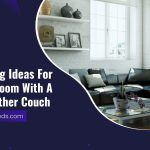 Decorating Ideas For A Living Room With A Black Leather Couch