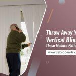Throw Away Your Boring Vertical Blinds And Get These Modern Patio Door Coverings