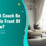 Should A Couch Be Placed In Front Of A Window?
