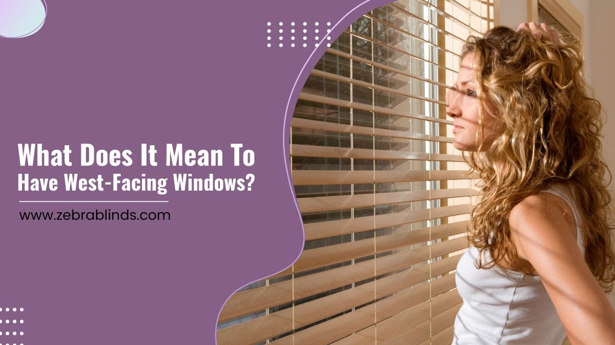 What Does It Mean To Have West-Facing Windows?