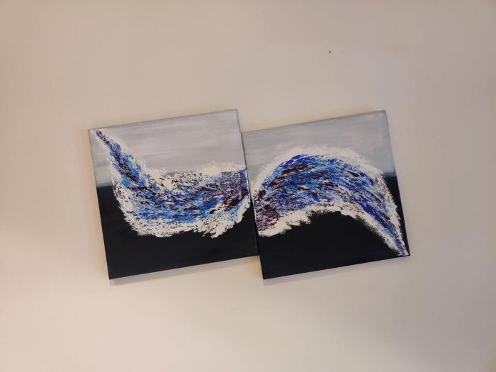 """Everything Is Possible – 12"""" X 12"""" – 2 Pieces"""