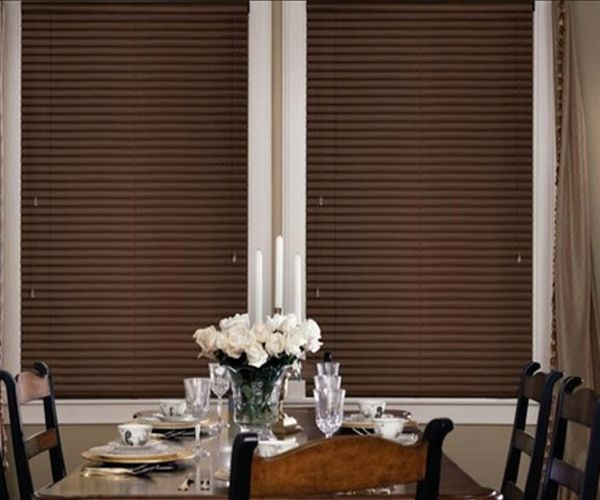 1 Inch Aluminum One Touch Cordless Blinds Crown