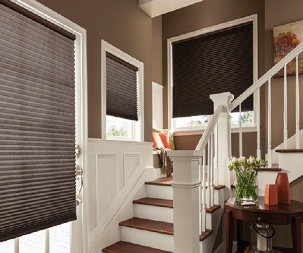"""1"""" EvenPleat Graber Motorized Pleated Shades"""