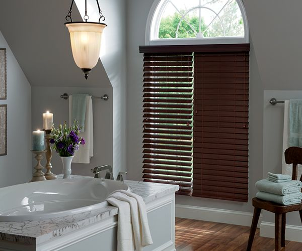 2 1/2 inch Lake Forest Graber Faux Wood Blinds