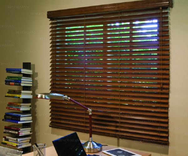 2½ inches Normandy Real Wood SmartPrivacy™ Blinds