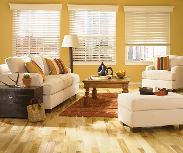 """2 3/8"""" Traditions Graber Wood Motorized Blinds"""