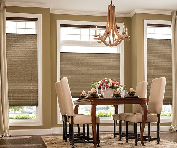 2 inches EvenPleat Graber Pleated Shades