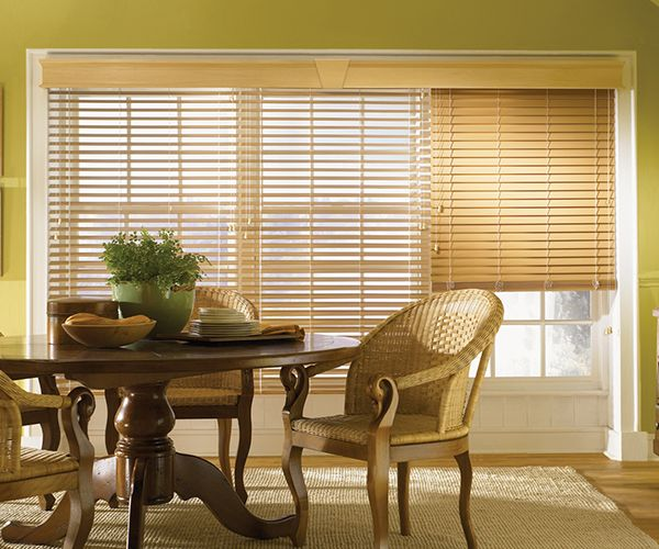 2 inch Lake Forest Graber Faux Wood Blinds