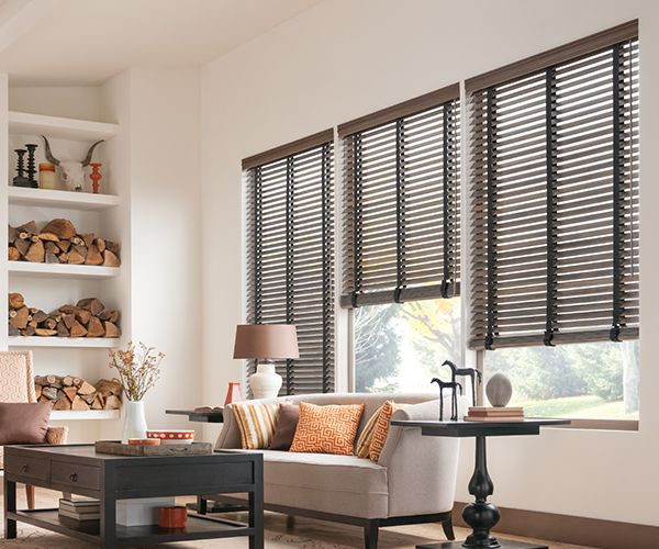 "2"" Traditions Graber Wood Motorized Blinds"