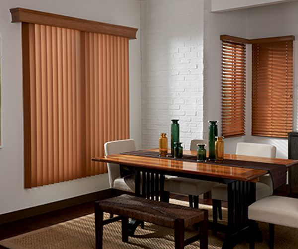 3 1/2 inch Elite Graber Wood Vertical Blinds