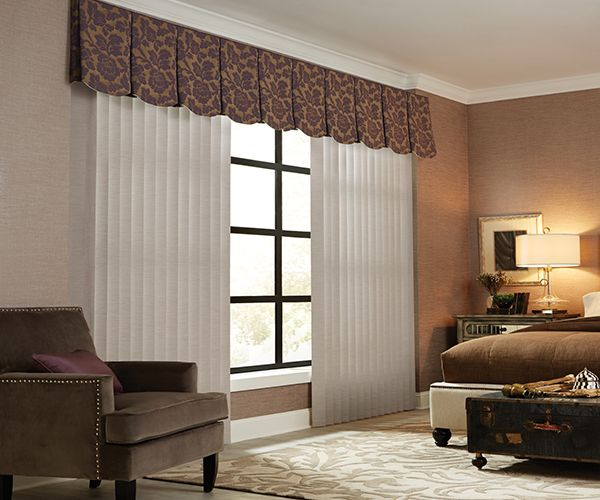 3½ inches  Fabric Vertical Blinds Graber®