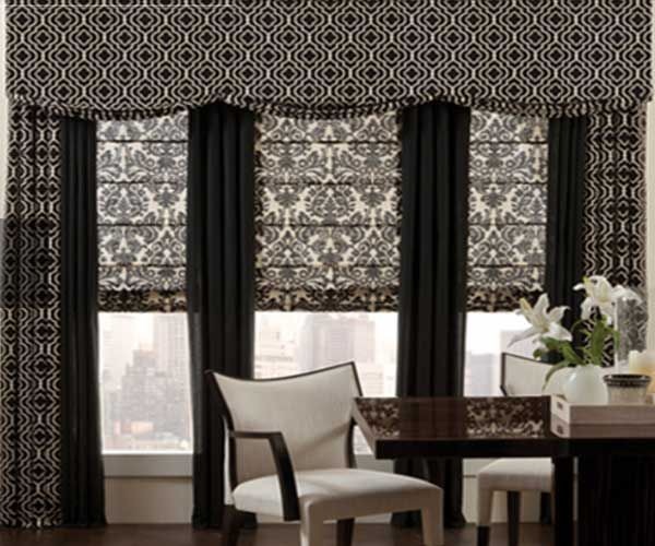 Pleated Crown Custom Drapes