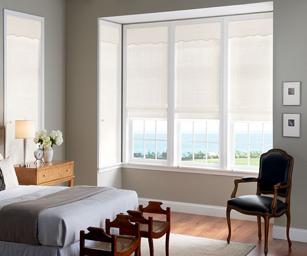 Tradewinds Graber Motorized Natural Shades